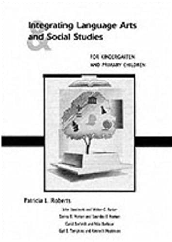 Book Integrating Language Arts and Social Studies for Kindergarten and Primary Children