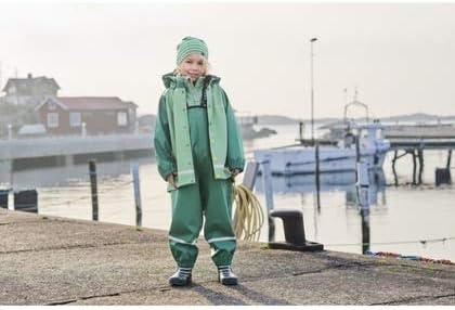 Polarn O Pyret Waterproof Suspender RAIN Pants 2-6YRS