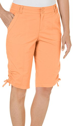 caribbean-joe-womens-patch-pocket-button-shorts-10-day-lily-orange