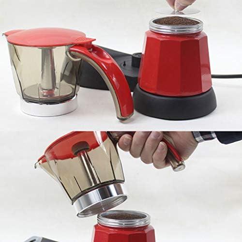 QUANOVO Cafetera Eléctrica Portátil De Acero Inoxidable Cafetera Espresso Mocha para Herramientas De Cocina Casera 150/300Ml 6 Tazas Variedad De Colores,Stainlesssteel: Amazon.es: Hogar