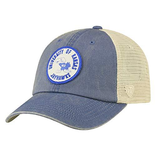 - Top of the World Kansas Jayhawks Official NCAA Adjustable Keepsake Soft Mesh Cotton Hat Cap 428604