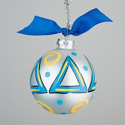 Tri Bead Ornaments - Glory Haus Delta Glass Ornament, 4-Inch
