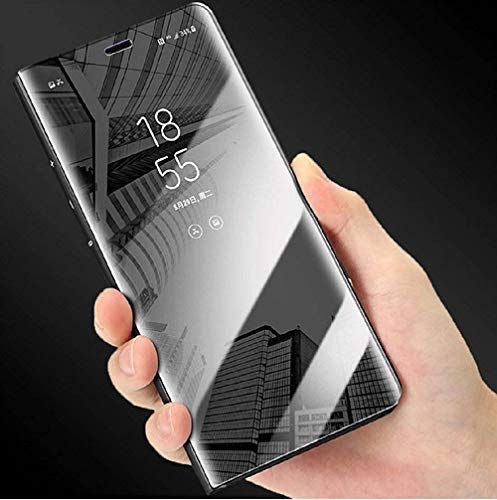 A rtistque Clear View Electroplate Mirror Protective Leather Flip Cover for OnePlus 7 Pro - Black (B07W12FGRQ) Amazon Price History, Amazon Price Tracker