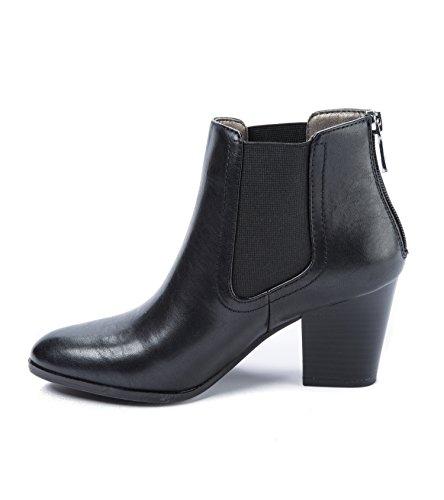Andrew Geller Goeroe Dames Laarzen Zwart Maat 10 M (ag14378)