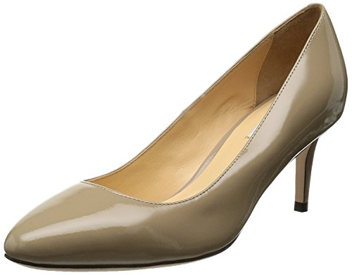 (Cole Haan Womens Bethany Pump Closed Toe Classic Pumps, Tan, Size 10.0)