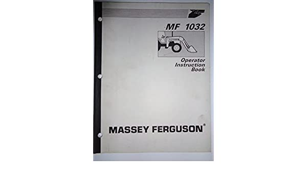 Tractor Manuals & Publications Ferguson 35 Instruction Book  .................................  Original Manual