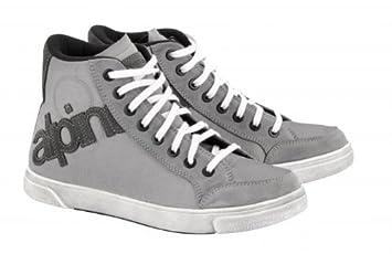 Chaussures Canvas 44 Loisirs Taille Alpinestars gris Moto Joey Ig67H7