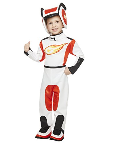 Spirit Halloween Toddler AJ Costume - Blaze and the Monster (Racing Girl Halloween Costume)