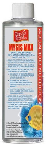 Dr.G's Mysis MAX (Liquid Mysis Highly Concentrated, Long Shelf Life, Economical) 8 -