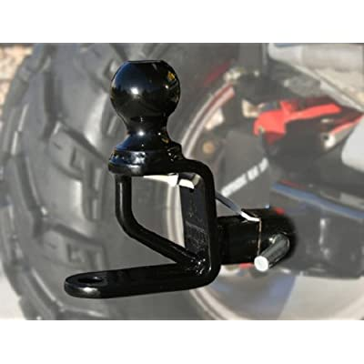 ATV TEK, TMP1 Trio HD 1.25 Inches Multi-Purpose Hitch with Ball Mount, Heavy-Duty Tow Hitch: Automotive