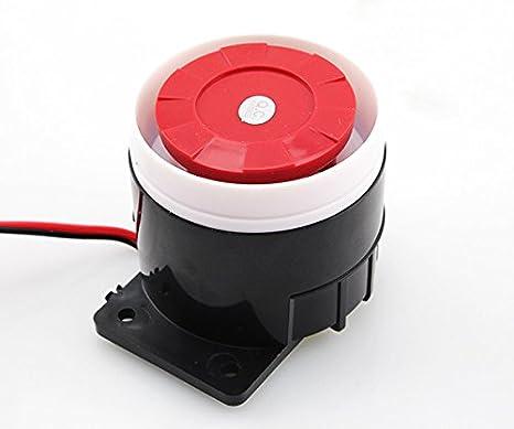 rybyte (TM) Wired Home seguridad Mini sirena sensores ...