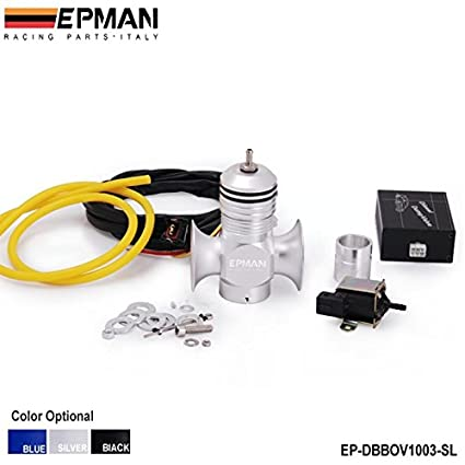 Amazon.com: EPMAN Electrical Turbo Diesel Blow Off Valve / Diesel Dump Valve / Diesel BOV Kits For All Turbo Diesel Vehicles (Silver): Automotive