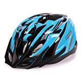 Dealzone Roswheel Helmets Safety Adult Out Mold Cycling Helmet with LED Light K0613