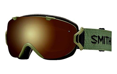 Smith Optics I/OS Adult Snowmobile Goggles Eyewear Olive / Gold Sol-X - Optics Sol