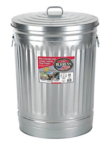 Behrens 1270 31 Gallon Trash Can