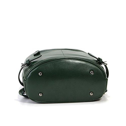 Vert cuir Sac femme main portés à 9002 Sac dos épaule E main portés fashion LF en portés Girl Sac Sac tq8wfxzFnH