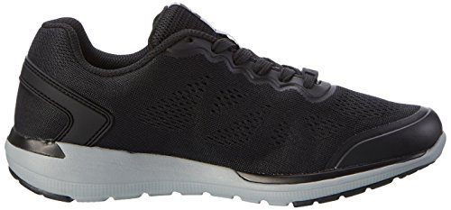 Lotto Men's Cityride Ii AMF Multisport Outdoor Shoes Black (Blk/Slv Mt) JsGozD