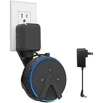 Amazon Com Echo Dot 3rd Gen Wall Mount Hanger Holder