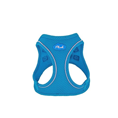 Plush Step-in Air Mesh Harness - Horizon Blue L (19