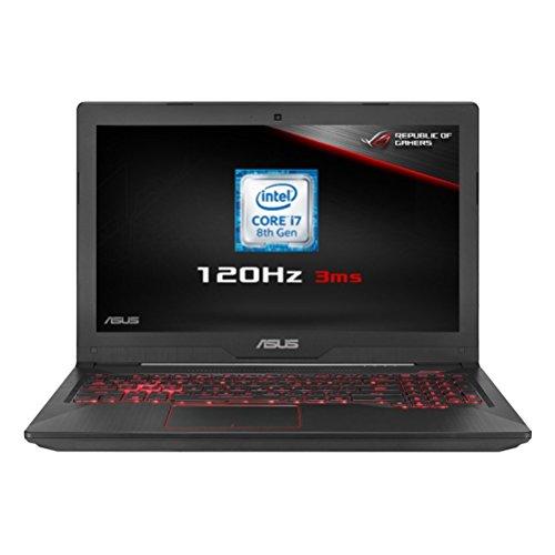 ASUS FX504GM-EN150T 15.6 Inch 120 Hz Full HD Wide-View Laptop (Metal) -...