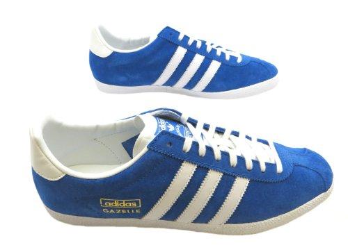 Adidas Gazelle Og - Zapatos de cordones para hombre azul azul