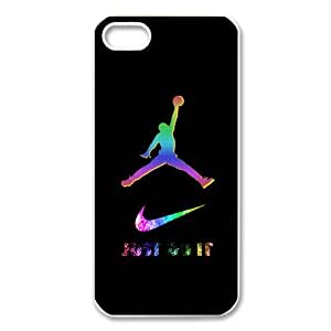 Brand Logo Series - Colorful Just Do It Nike Logo Design Hard Case Cover for Apple Iphone 5 5S