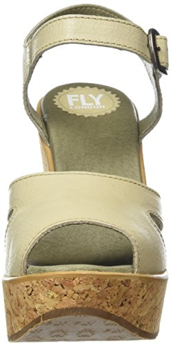 Off London Sandaler Kvinners Kile White Hull978fly krem Fly 004 PUq6wCxx