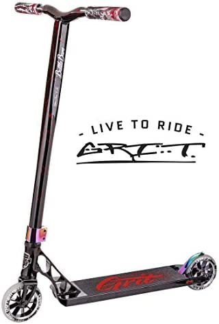 Grit Tremor Pro Scooter – Stunt Scooter – Trick Scooter – Expert Level Pro Scooter – for Kids Ages 10 and Heights 5.0ft-6.5 ft