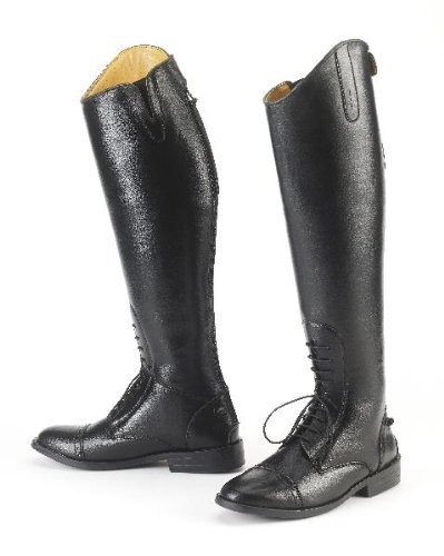 EquiStar Ladies All Weather Field Boot - Black 8 - - Tall Boots Riding