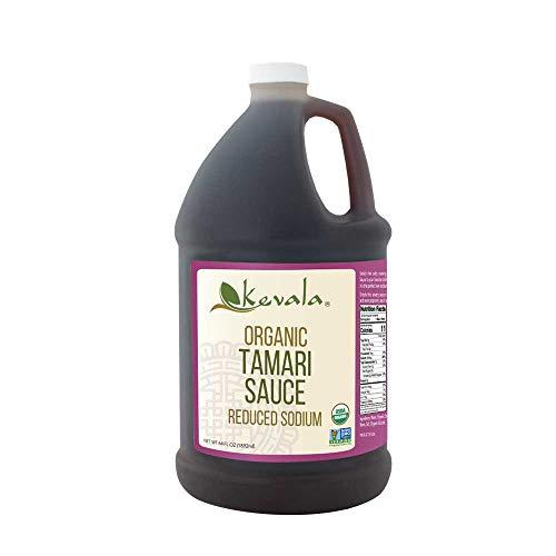 (Kevala Organic Tamari Sauce 1/2 Gal (Reduced Sodium) (Gluten Free))