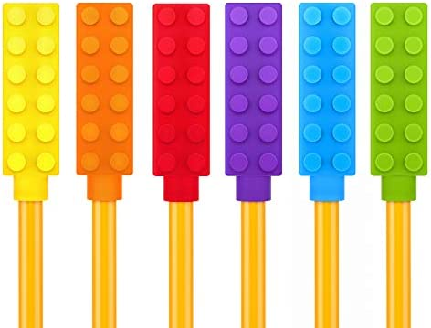 Chewable Pencil Chew Topper 6 Pack product image