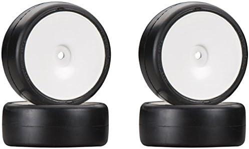 HPI Racing 104597 Challenge Tire 30C Glued/Dish Wheel (4-Piece)