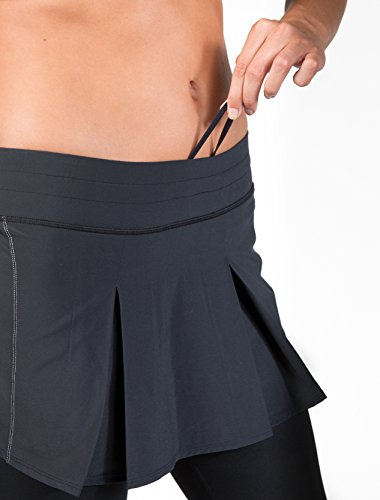 Skirt Sports Women's Jette Capri Skirt Moisture Wicking Polyester & Spandex