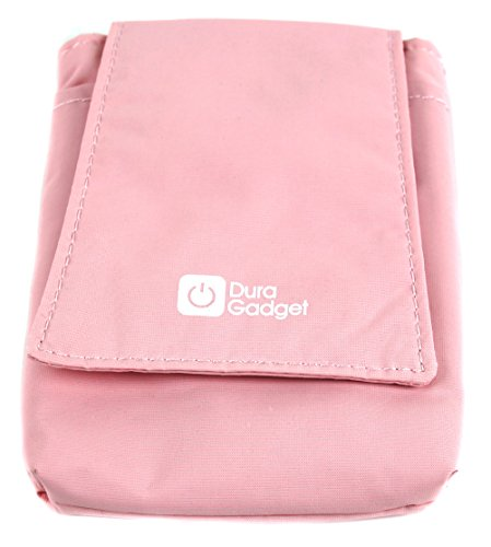 Price comparison product image Lightweight, Cushioned & Ultra-Portable Case in Light Pink Compatible with WowWee Fingerlings Pet Baby Monkey - by DURAGADGET