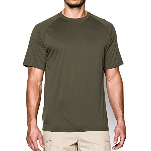 - Under Armour Men's Tactical Tech T-Shirt, Marine Od Green /Clear, Large