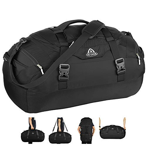 AIONE Duffel Backpack Bag 4-Way Sports Gym Backpack Travel L