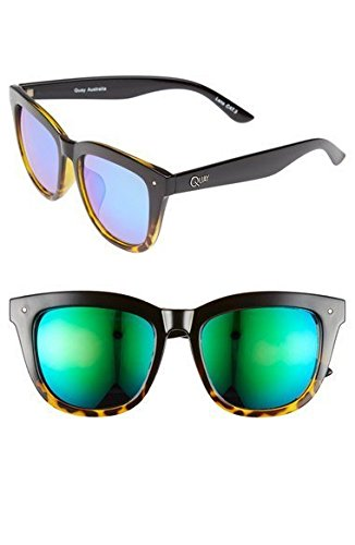 QUAY AUSTRALIA Women's Zeus Tort/Green - Quay Usa Eyewear