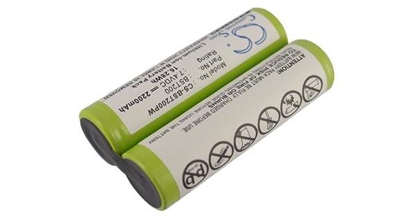 Amazon.com: Batería de repuesto para Einhell 43497, 34.100 ...