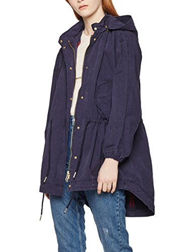 Giacca Bessie Blu Hilfiger 443 Delle Gmd peacoat Tommy Parka Donne qf1CSfwE