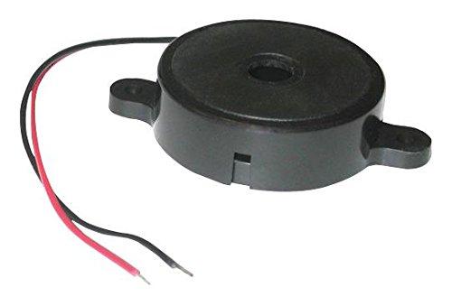 Mallory SBT5LM0FL Transducer, Piezo, Alarm, Continuous, 3.3 VDC, 5 VDC, 35 mA, 95 DBA