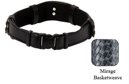 Uncle Mike's Duty Gear Evo Mirage BW Belt (Small, Black)