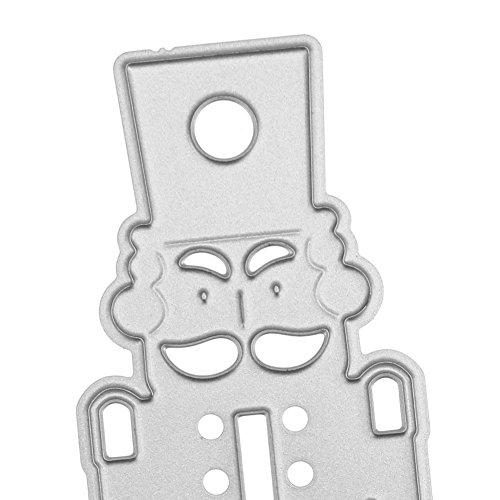 DORIC Metal Cutting Dies Stencil Creative Present GreetingDecoration Flower for DIY]()