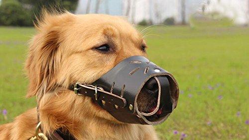XXL Anti-bite called dog Mouth cover pet Masks dog Muzzle Black