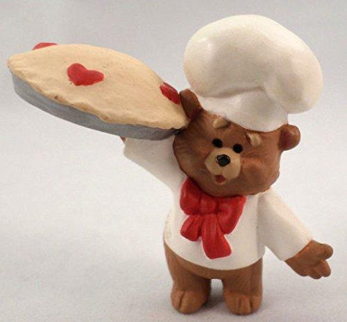 Hallmark Merry Miniatures Valentine's 1989 Bear Baker