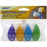 Smiley Toothbrush Holder 4 Count
