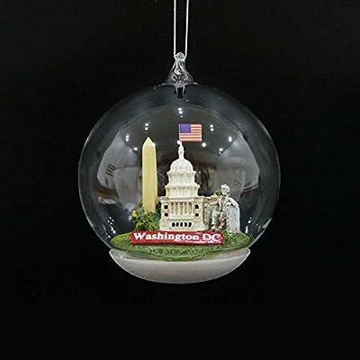 Kurt Adler Washington DC Landmarks Dome Ornament