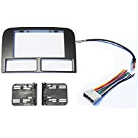 Jeep Grand Cherokee WJ 2002-2004 Double Din Aftermarket Radio Stereo Navigation Bezel