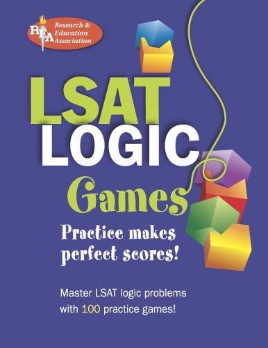 LSAT Logic Games (LSAT Test Preparation) by Webking Robert Holland Clayton McLain Jerry F. Avelar Daniel (2005-09-19) Paperback