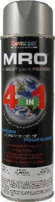 20 Oz. Seymour MRO Spray Paint - MRO Paint: Aluminum - Pack Of 6