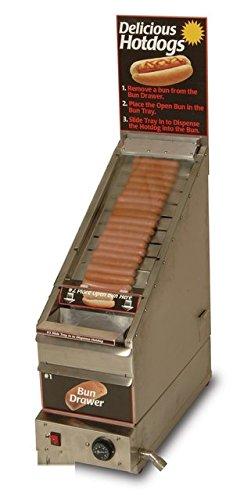 Benchmark USA 60024 Doghouse Hotdog Cooker/Dispenser